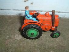 DINKY #301 FIELD MARSHALL TRACTOR RUBBER TYRE VERSION DRIVER HAS NO ARMS