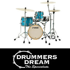 "Brand New SONOR SSE MARTINI Drum KIT 4Piece  14"",8"",13""  12SN Turquoise Sparkle"