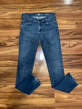 Seven 7 For All Mankind Roxanne Women's Skinny Jeans Med Wash Size 26
