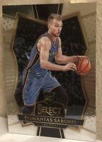 2016-17 Panini Select #194 Domantas Sabonis RC Rookie Thunder Pacers Gem Mint ?