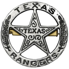 American Western Old West Civil War Lawman Confederate Texas Rangers Badge New