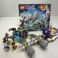 LEGO Elves Aira's Pegasus Sleigh Set #41077 from 2015 w/ Manual and Minifigs