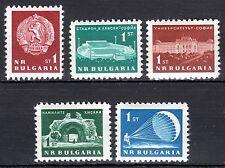 Bulgaria - 1963 Definitives - Mi. 1360-64 MNH