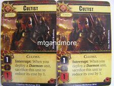 Warhammer 40000 Conquest LCG - 2x Cultist - Base Set engl.