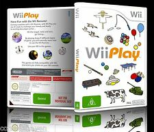 (Wii) Wii Play (G) (9 Mini Games) Very Good Condition, PAL, Guaranteed, Cleaned