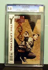 Y: The Last Man #1 (2002) CGC 9.8 1st app Yorick Ampersand DC/ Vertigo
