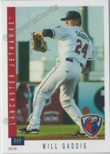 2019 Lancaster JetHawks Will Gaddis RC Rookie Colorado Rockies