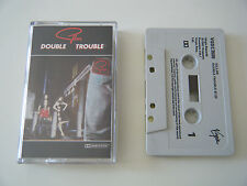 GILLAN DOUBLE TROUBLE LONG PLAY CASSETTE TAPE DEEP PURPLE VIRGIN UK 1981