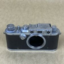 Leica IIIa 35mm Rangefinder Film Camera #303064 1938 - VINTAGE - READ