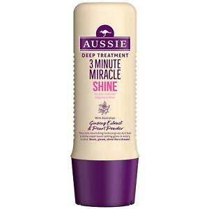 Aussie 3 Minute Miracle Shine Deep Conditioner Treatment - 250ml