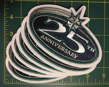 Seattle Mariners MLB Jersey Baseball patch 25th anniversary