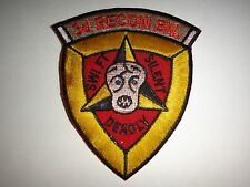 Vietnam War Patch USMC 3rd RECON Battalion 3rd Marine Div. SWIFT-SILENT-DEADLY