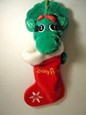 "18"" BABY BOP Plush Christmas Stocking Barney The Purple Dinosaur Dakin"
