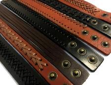 wholesale 10 pcs handmade leather  bracelets