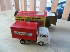 Vintage SHINSEI mini-power Diecast GMC US Trucking #4219  In box