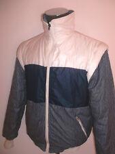 vintage 80`s NYLON Weste Jacke vest glanz shiny ski jacket weste 80er Jahre M