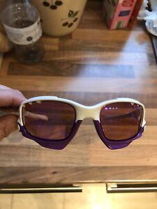 Oakley Jawbone Sunglasses - White / Purple - Used (1-Pair)