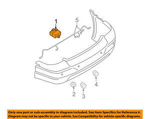 FORD OEM Parking Backup Back Up Reverse Distance-Control Module 5G1Z15K866AA