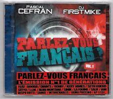 DOUBLE CD RAP FRANCAIS / DJ CEFRAN & DJ FIRSTMIKE - PARLEZ VOUS FRANCAIS VOL.1