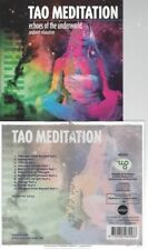 CD--TAO MEDITATION - ECHOES OF THE UNDERWORLD - AMBIENT RELAXATION |