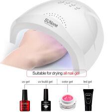 48W Lamp LED UV Gel Polish Curing Nail Art Dryer Manicure Nail Art Tools NEW UK