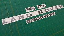 Discovery TD5 XS ES GS Series 1 & 2 bonnet and rear replacement decals stickers