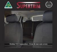 FRONT + REAR SEAT COVERS FIT HOLDEN VE Sedan COMMODORE PREMIUM NEOPRENE