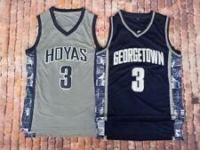 Hoyas Allen Iverson #3 University of Georgetown 76ers Basketball Jersey