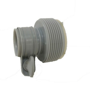Intex Adaptor B - Stepped Hose Reducer Fitting Covert 32mm Hose to 38mm
