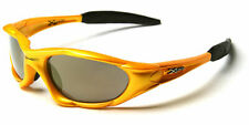 X-Loop Yellow Wrap Around Men's Sunglasses (XL0109) *NEW* *FREE Shipping*