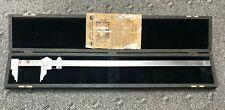 Starrett 25 Vernier Caliper With Storage Case No 122