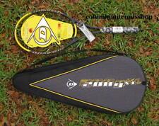 Two (2) New Dunlop 200G Xl Hotmelt 95 200 G tennis racket + case unstrung 4 1/4