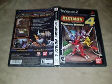 Digimon World 4 CASE ONLY (Sony PlayStation 2) - PS2 NTSC