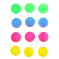 12 Pieces Colorful Beer Pong Balls Table Tennis Decoration Balls Beer Balls