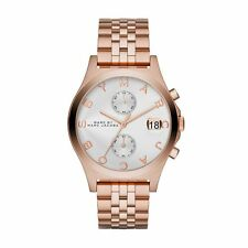 NEW MARC JACOBS MBM3380 ROSE GOLD LADIES FERUS WATCH - 2 YEARS WARRANTY