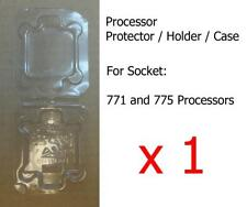 1 x Socket LGA77x (771 and 775) Processor CPU Cover Holder Protector Case