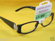 New $15 Foster Grant Designer Women Reading Eyeglasses-1.50
