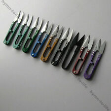 12 pcs mixed color small yarn scissors sharp thread scissors and convenient