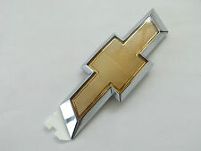 Chevrolet Camaro Rear Deck Lid Trunk Gold / Chrome Bow Tie EMBLEM New OEM