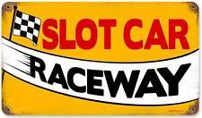 Vintage Hot Rod Slot Care Raceway Metal Sign Man Cave Garage Shop Decor RPC108