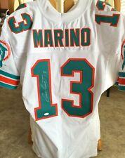 Dan Marino signed Miami Dolphins 1995 authentic Wilson white game jersey JSA COA
