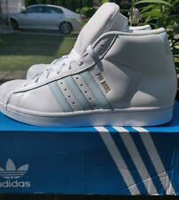 Adidas Pro Model- White/ Sky Tint- US SZ Mens 12- New