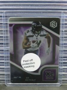 2021 Elements DK Metcalf Xenon Parallel w/ Coating #4/54 Seahawks C615