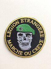 D240 // ECUSSON PATCH AUFNAHER TOPPA / NEUF / LEGION ETRANGERE MARCHE OU CREVE 8