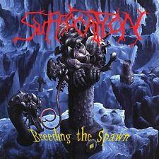 "Suffocation ""Breeding The Spawn"" piss yellow vinyl LP [Brutal Tech Death Metal]"