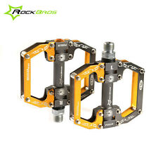 AU ROCKBROS Bike Bicycle Pedals Cycling Aluminum Alloy Sealed Bearing Pedal