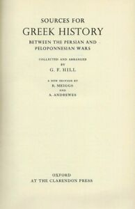 G.F. Hill. Sources for Greek History...Oxford: Clarendon Press, 1962. Greek text