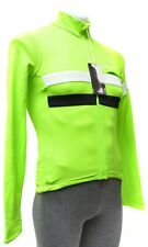 Rapha Brevet Long Sleeve Cycling Jersey Men XS Green Road Mountain Bike Gravel