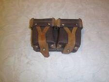 Replica  Russian Mosin nagant  rifle ammo pouch brown belt pouch 2