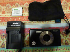Ricoh Waterproof Digital Camera Px Black w/ Battery & Charger &cable&8Gb sd card